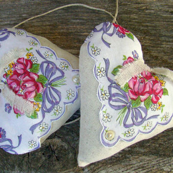 Heart Wedding Decor, Decoration, Chair Hanger, Wedding Bunting, Banner, Rustic, Vintage Styled, Barn Wedding, Country, Home Decor