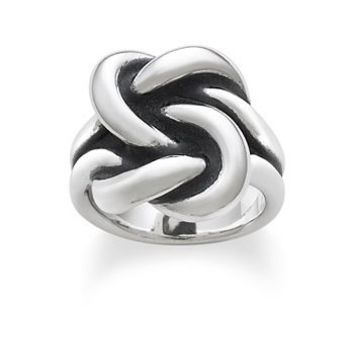 Bold Lovers' Knot Ring: James Avery