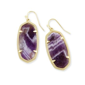 Elle Drop Earrings in Amethyst | Kendra Scott Jewelry
