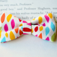 Fun Bow, Colorful Print, Little Bows, Hair accessories, Party Favors, Birthday Gift, Hair Clips