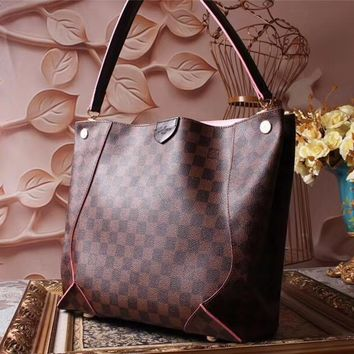 Louis Vuitton Lv Monogram Leather Shopping Bag Tote Bag #35801 - Best Deal Online