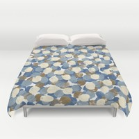 Winter Celebration Duvet Cover by Kat Mun