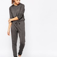 New Look | New Look Sweat Jumpsuit at ASOS