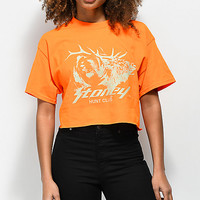 Post Malone Stoney Buck Hunt Club Orange Crop T-Shirt | Zumiez