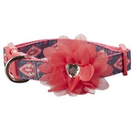 Bond & Co. Pink Aztec Flower Dog Collar | Petco Store
