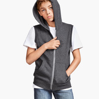Sleeveless Hooded Jacket - from H&M