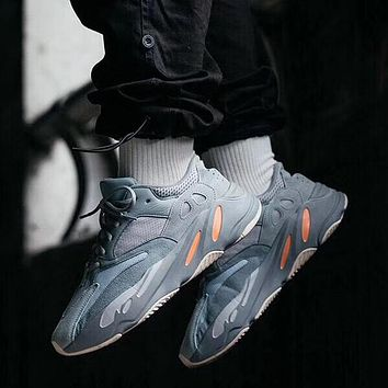 ADIDAS YEEZY 700 Tide brand breathable men and women models wild retro sports shoes 5#