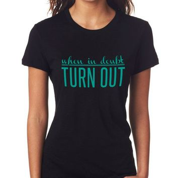 Turn Out Tee