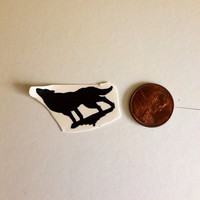 Temporary Tattoo Wolf by BlueHazelwood on Etsy