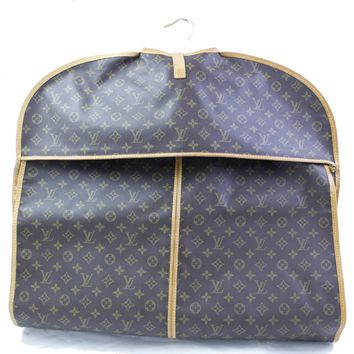 Authentic Louis Vuitton Travel Bag Garment Cover N48230 Browns Monogram 252134