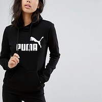 shosouvenir Puma cotton round neck long-sleeved sweater street men and women lovers section