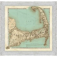 One Kings Lane - Most Wanted - Cape Cod Map