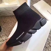 Black Balenciaga Shoes Boots Fashionable Casual Breathable Sneakers Running Sneakers