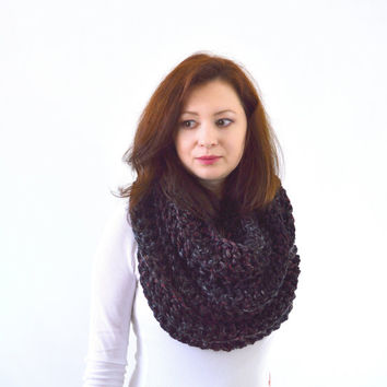Chunky Infinity Scarf   The Dresden