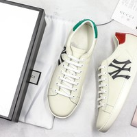 Gucci Ace Embroidered Ny Sneaker - Best Online Sale
