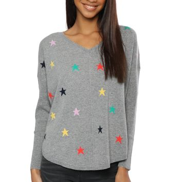 WYSE Emily Multi Star Sweater
