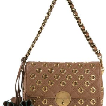 Marc Jacobs 'Quilted Eyelet Gotham' Shoulder Bag