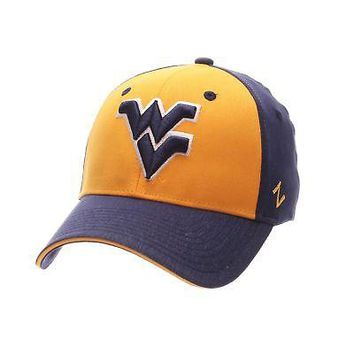 Licensed West Virginia Mountaineers Official NCAA Challenger Small Hat Cap by Zephyr KO_19_1
