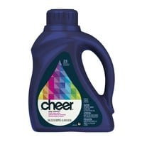 Cheer Liquid Bright Clean Scent, 25 Loads, 40-Ounce(Packaging May Vary)