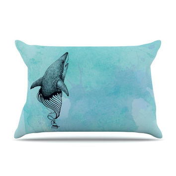 "Graham Curran ""Shark Record III"" Pillow Sham"