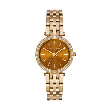 MICHAEL KORS WATCH  WOMEN LADIESMETALS MINI DARCI STAINLESS STEEL MK3408