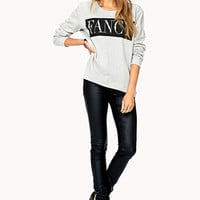 Standout Spiked Fancy Sweatshirt