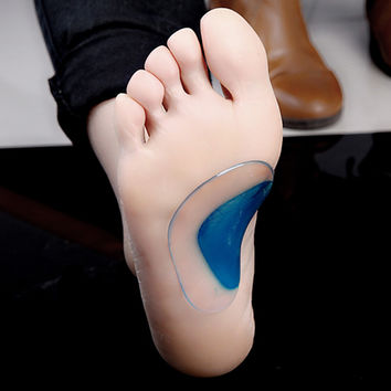 Children 1 Pair Orthotic Insole Flatfoot Corrector Arch Pain Support Gel Inserts Pads Feet Care Silicone Insoles For Baby Kids