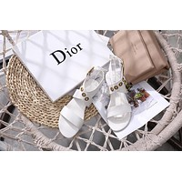 Dior Flat-soled sandals in summer