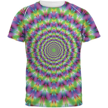 Trippy All Over Adult T-Shirt