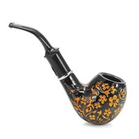 Flower Pattern Smoking Pipe