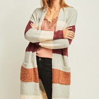 Come Close Cardigan - Burgundy
