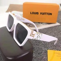 Louis vuitton sells casual women's signature bronzed sunglasses