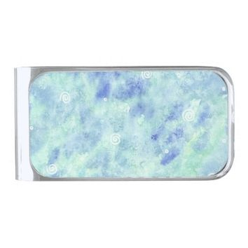 Money clip - Blue lagoon
