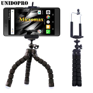 Flexible Octopus Tripod Head Bracket Phone Camera Holder Stand Mount for Micromax Q380 AQ5001 D320 A290 A093 A94 Phone Holder