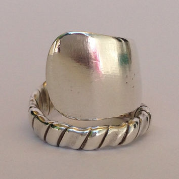 Vintage Gorham Sterling Silver Spoon Ring