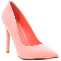 Pink Cindy by Not Just A Pump Classic Pointy Toe Heels Women's Shoes