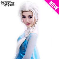 Cosplay Wigs USA® Character<br> New Lace Front Frozen INSPIRED - Elsa - 00238