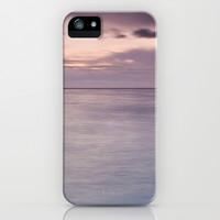Purple sunset iPhone & iPod Case by Guido Montañés