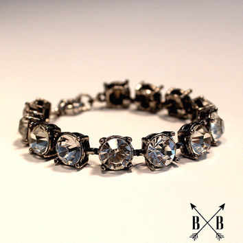 Martha Crystal Bracelet - J Crew Inspired Bracelet - Hard to find!