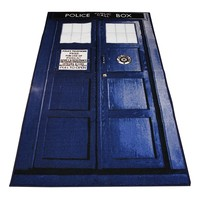 Doctor Who TARDIS Door Rug