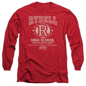 Grease - Rydell High Long Sleeve Adult 18/1