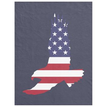 Soaring Patriot Fleece Blanket