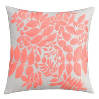 'Lace Medallion' Embroidered Pillow