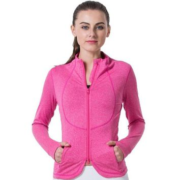 Breathable Fitness Jacket