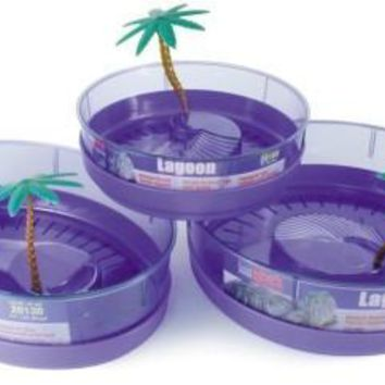 Lee's Deluxe Turtle Lagoon - Round with Tray & Plant