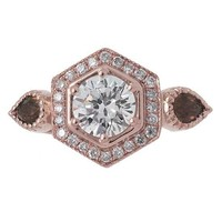 Timeless Designs R1305C Engagement Ring