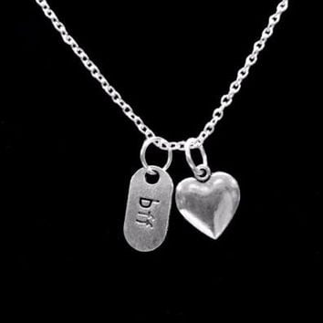 BFF Heart Best Friends Forever Gift For Best Friend Necklace