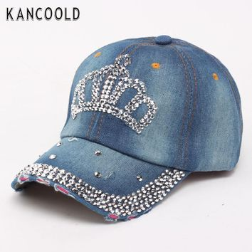 Baseball Cap Men Women Snapback Caps Brand Golf Hats For Women Visor Bone Jeans Denim Blank Gorras Casquette Crown 2017 De28