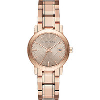 The City BU9135 rose gold-toned watch