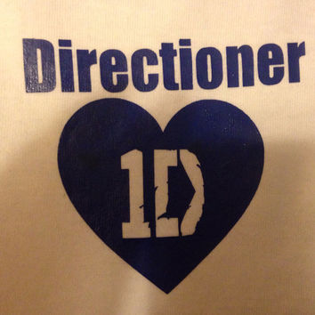 "One Direction T-Shirt ""1D Directioner"""